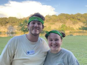 Pictured: CYMT Residents Dalton Baker and Hannah Cooley
